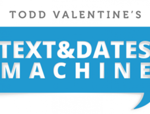 RSD Todd – Text And Dates Machine