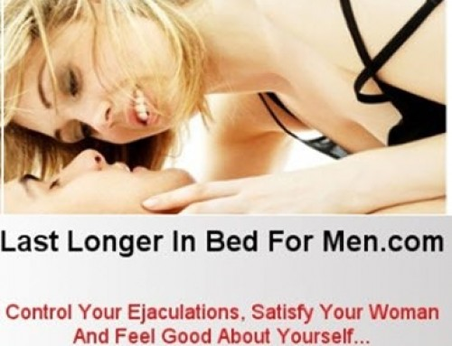 Last Longer In Bed For Men – Tony Bonacci