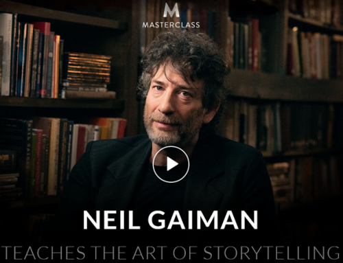 Masterclass – Neil Gaiman Teaches the art of Storytelling