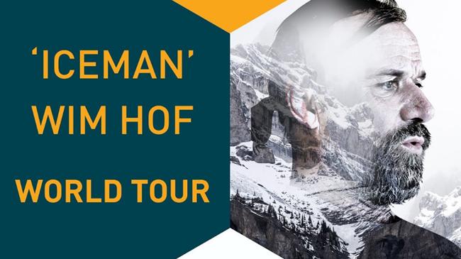 Wim Hof US Tour 2018