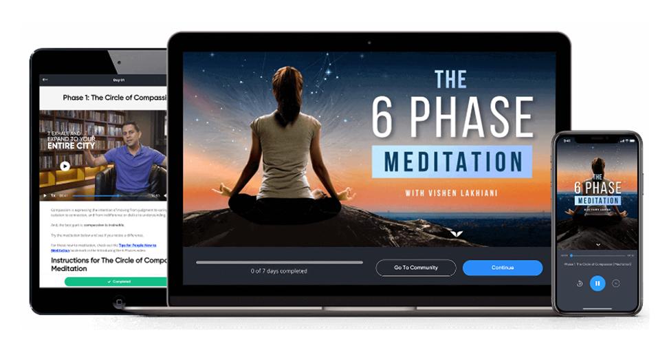 Vishen Lakhiani - The 6 Phase Meditation