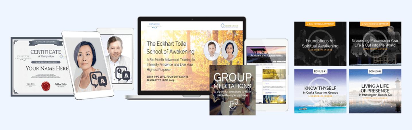 Eckhart Tolle – School of Awakening 2019