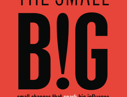 The Small BIG – Small Changes that Spark Big Influence