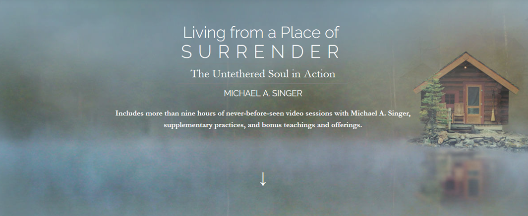 Michael Singer - Living From a Place of Surrender