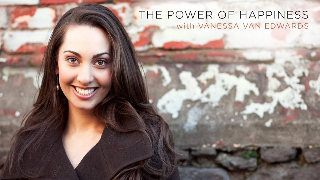 Vanessa Ed Edwards - The Power of Happiness