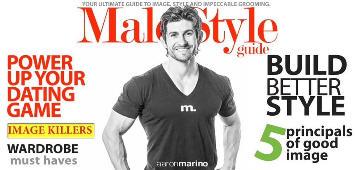 Aaron Marino - Alpha Man Style Tips