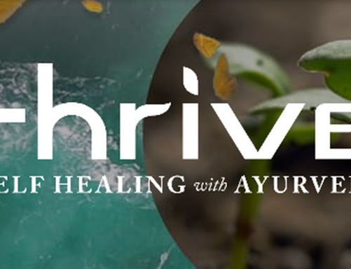 Thrive – Self Healing with Ayurveda