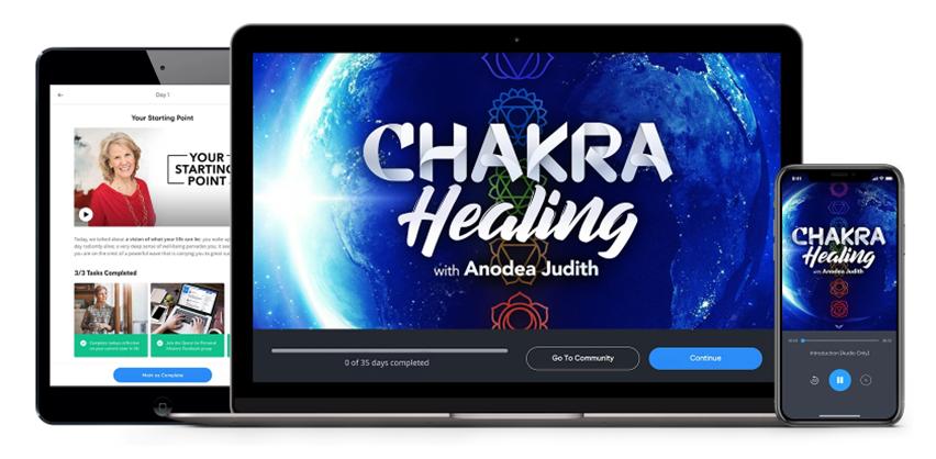 Chakra Healing - Anodea Judith - MindValley