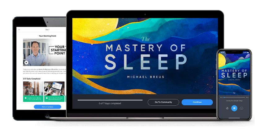 Dr. Michael Breus – The Mastery of Sleep – MindValley
