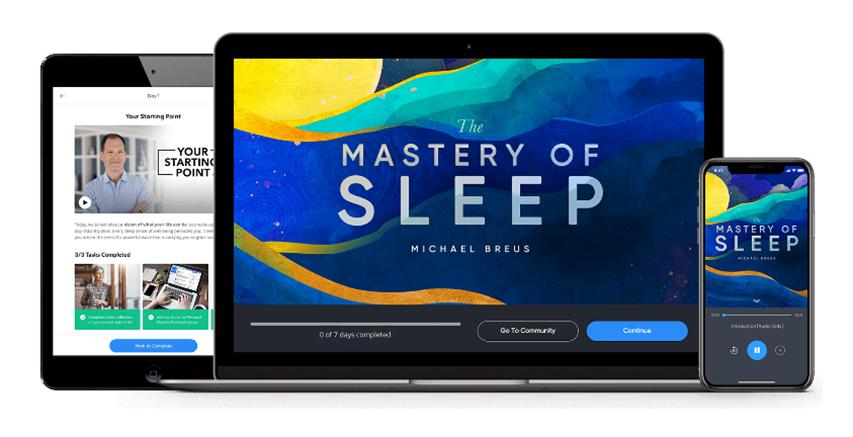 Dr. Michael Breus - The Mastery of Sleep - MindValley