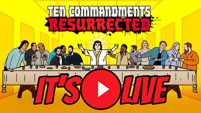 RSD Derek – Ten Commandments Resurrected