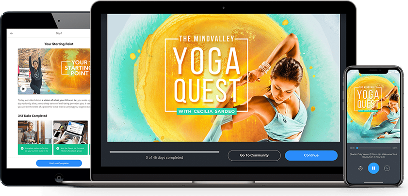 The Mindvalley Yoga Quest - Cecilia Sardeo