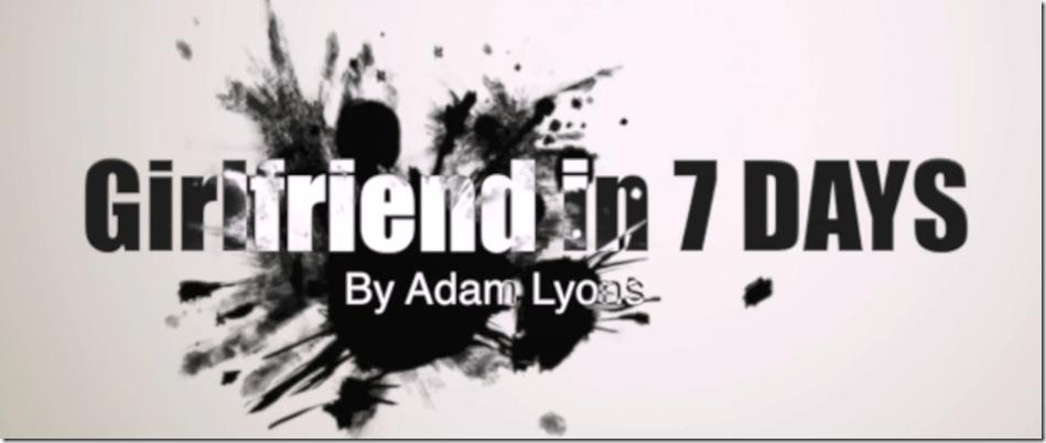 Adam Lyons - Hot Girl In 7 Days